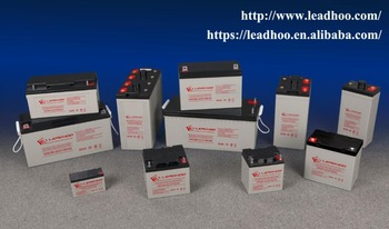 12V AGM storage batteries ISO 9001 and 14001