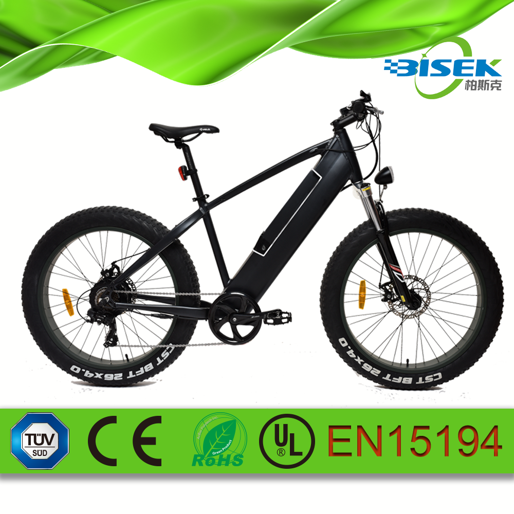 electric OEM off-road fat tire mountain bike 26*4.0 for men