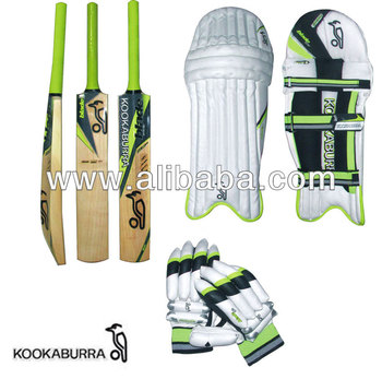 NEW 2016 MODEL KOOKABURRA CRICKET Includes ~~ BAT + PAD + GLOVES