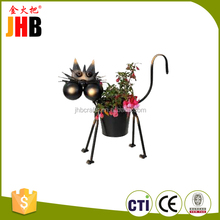 Latest Design Metal Flower Pot For Garden Decor