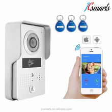 Wireless Video Door Phone Wifi 3G 4G Video Door Camera +Indoor Bell Wifi Intercom IP door bell camera for office