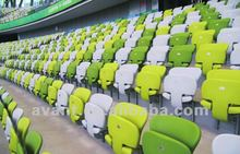 football field high-quality plastic fixed sports stadium chair
