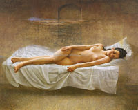 hot sexi photo image oil painting