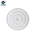 White Flat Suction Sink Stopper