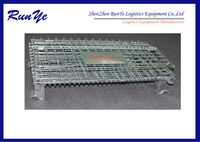 storage cage rust resistant galvanized/mesh container/butterfly cage names as wire mesh basket