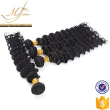 New stylish deep wave indian human hair importers