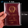 Cheap PVC passport holder clear plastic cover