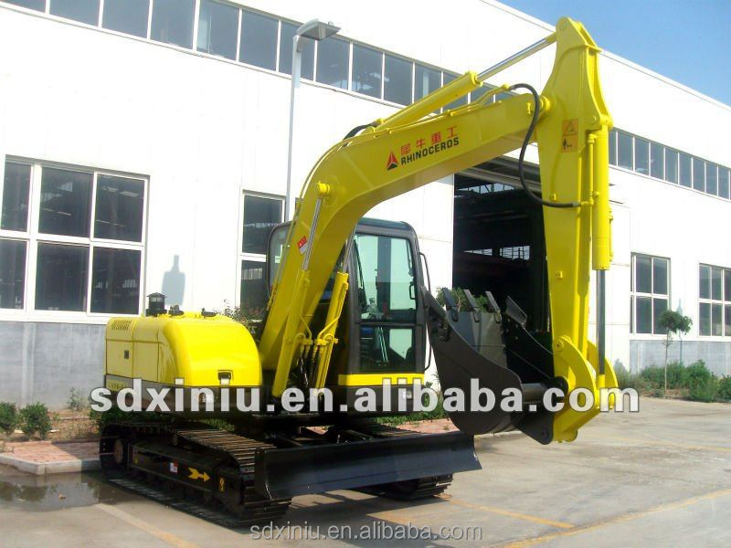 8T road construction machinery track crawler excavator for sale in Australia