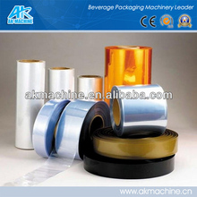 Clear shrink pvc film for packing