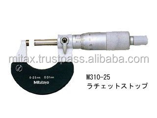 Mitutoyo micrometer M310-25 Outside Micrometer Ratchet stop Japanese quality