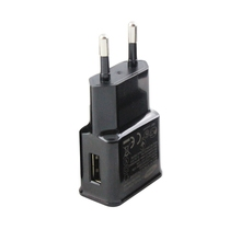Black Travel Convenient EU Plug Wall USB Charger Adapter For Samsung Galaxy S5 S4 S3 Note 3 Charger 5V 2A