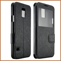 Factory PU leather flip case for blackberry z3