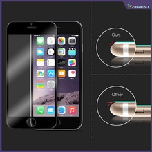 New Product Full Cover Silicone Tempered Glass Screen Protector for iphone6 & iphone 6 plus