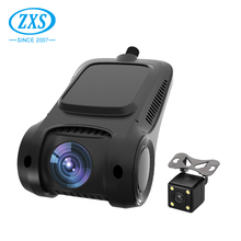 Super Small And Light Full Hd 1080P Wifi Dual Camera Dash Camera Car Recorder With Gps