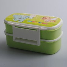 food grade plastic food container, lunch box kids