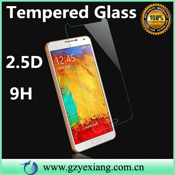 ultra thin premium 9h 2.5d tempered glass screen protector for samsung galaxy note 5