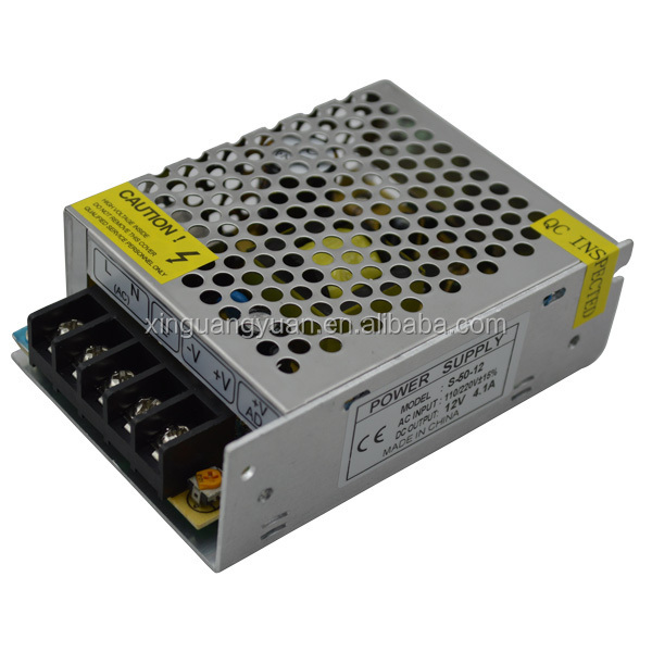 CE RoHS approved 24V 50W IP 20 LED Power driver constant voltage