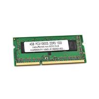 Low density 8bits 204pin ddr3 4 gb ram memory for laptop