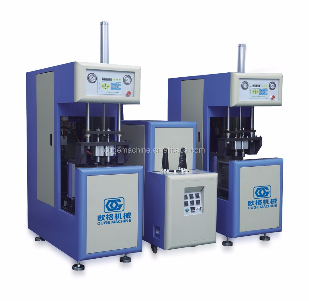 PET Semi Auto Bottle Blowing machines and spare parts required