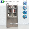office stainless steel cabinets with glass sliding door