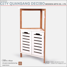 2017 cheap bamboo furniture prices corner cabinet rack bamboo furniture for sale