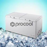 dual temperature chest freezer
