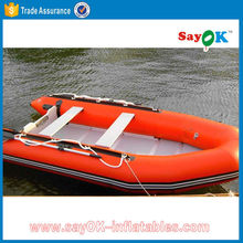north pak avon inflatable boat with outboard motor