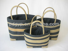 2013 new design pure handmade paper straw fashion lady beach bag