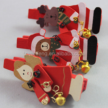 2014 top selling wooden clip cute wooden clip