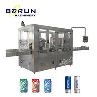 Commercial Industrial Use Carbonated Drinks Canning Sealing Equipment