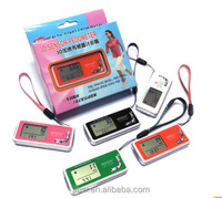 Newest Design Medical novelty gifts 3d sensor pedometer,waterproof digital stop watch with Patent