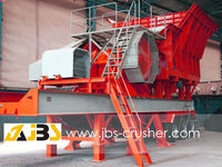 Russia Mobile Jaw Crusher on Wheel