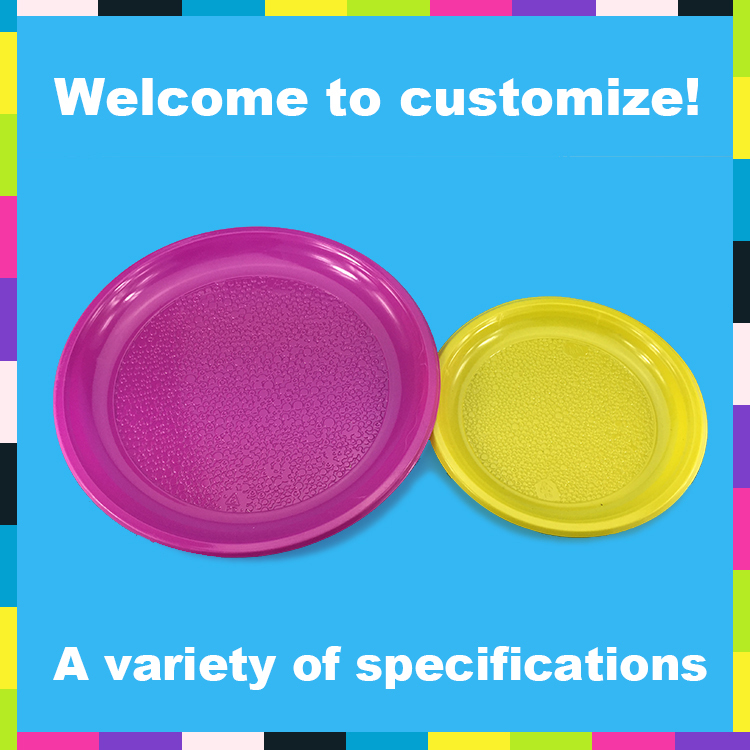 Wholesale Colorful PS plastic Charger Plate