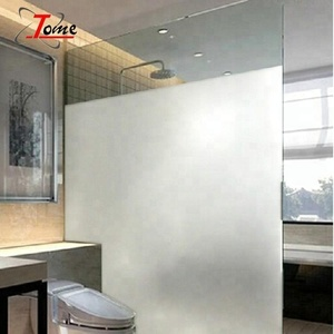 Hot sale waterproof adhesive decorative frosted glass window film