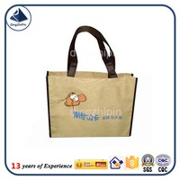 shopping bags logo full colour printing black non woven bag with custom logo