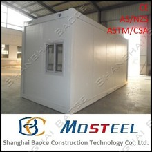20 feet and 40 feet mobile container housing construction site office