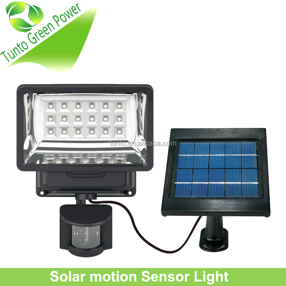 New Motion Sensor Light with Green <strong>Energy</strong> for Garden use