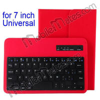 7 inch Universal 4 Fold Bluetooth Keyboard Case for iPad Mini Samsung Galaxy Tab 3 Google Nexus 7