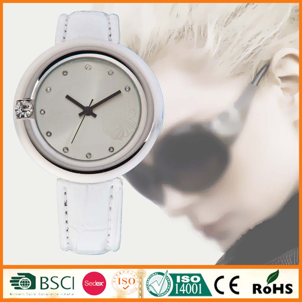 Leather Strap Vogue Cheap Wrist Watch For Women SYL120030