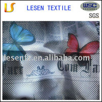 satin printed fabric for cloth