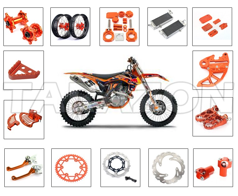 Wholesale motorcycle spare parts for KTM pit bike