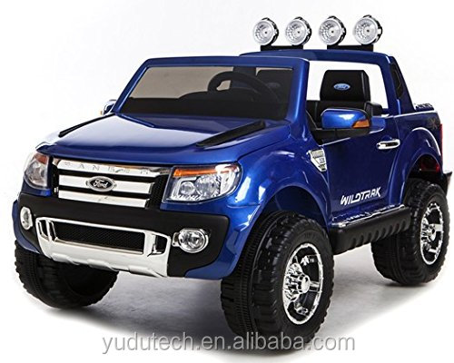 Epic Licensed Ford Ranger Pickup 4 x 4 SUV - 12v Electric / Battery Ride on Car / Jeep Blue