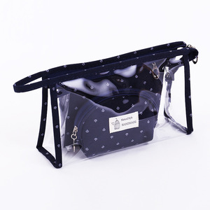 Transparent PVC Waterproof Makeup Bag Travel Toiletry Bag