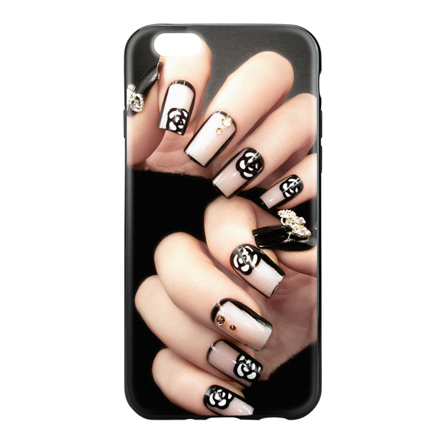Printing Custom Beauty nails Sublimation Mobile Phone Case Telephone Cover OEM TPU Case for iPhone 7 7 Plus