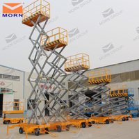 10m mobile scissor ladder platform
