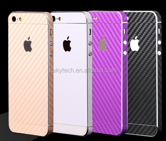China factory sell carbon fiber sticker screen protective film for iphone6 / iphone 6 plus