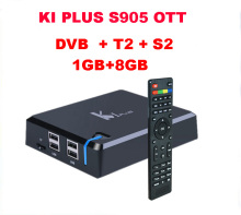 Factury OEM dvb s2 android tv box K1 Plus DVB-T2 S2 Amlogic S905D HD tv box