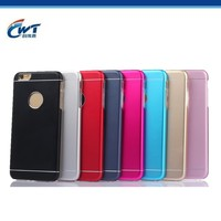 2016 Hot selling Aluminum metal case for iphone 6 with TPU back cover,cheap price for iphone 6 case for iphone 6