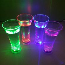 Party suppliers colorful led glass for wedding decoration
