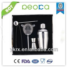 550ml wine set stainless steel 5 piece set cocktail shaker